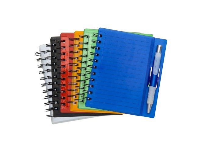 Caderno com Caneta Personalizado