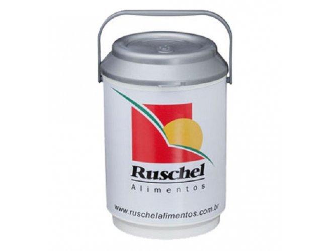Cooler térmico plástico 08 latas