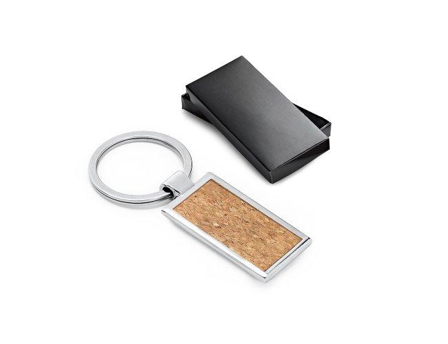 Porta Chaves Metal e Cortiça
