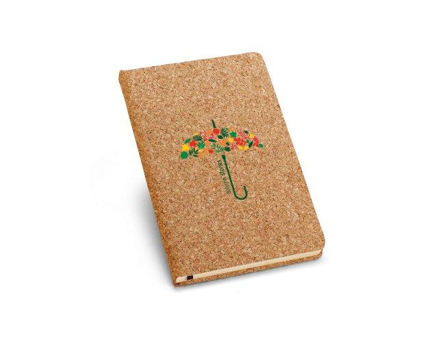Caderno Capa Dura A5 em Cortiça