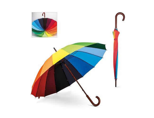 Guarda-chuva com Cabo de Madeira