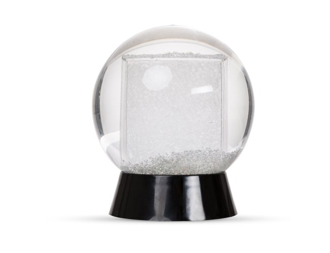Globo de Neve em Plástico
