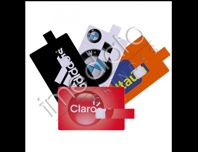 Pen Drive Cartão Quebra Cabeça Personalizado