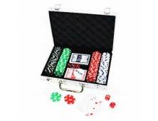 Jogo de Poker 200 Peças