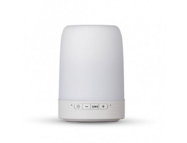 Caixa de Som Multimídia com Porta Celular e Luminária