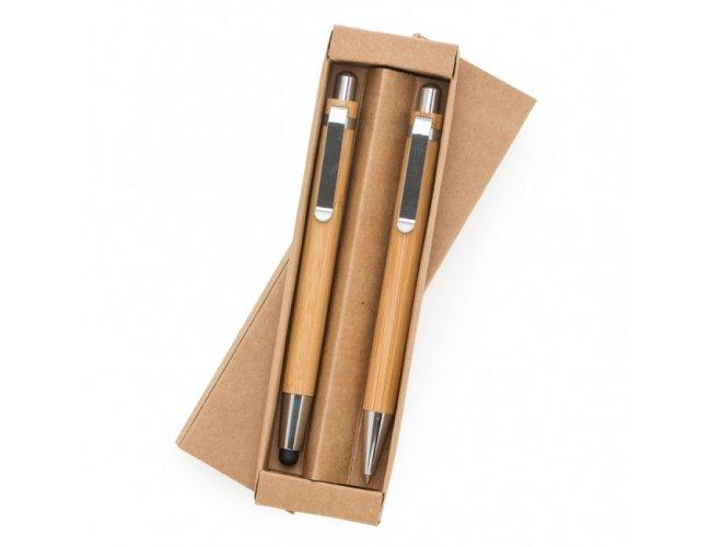 Kit Ecológico Caneta e Lapiseira em Bambu SIPAT
